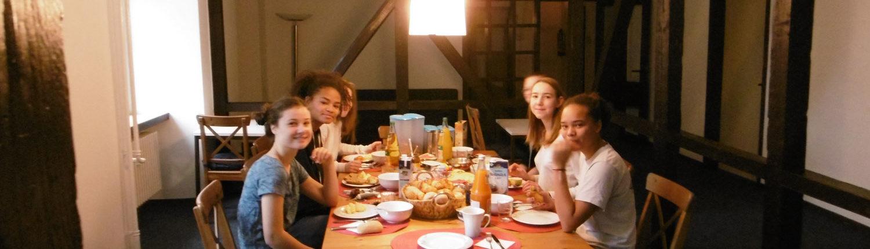 Wochenende Frühstück